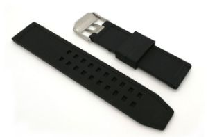 High Quality Waterproof Sport Silicone Watch Band pictures & photos