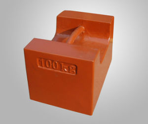 100kg Cast Iron Weight, Test Weight, Counterweights, Calibration Weights, Balancing Weights pictures & photos