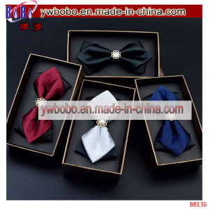 Wedding Dress Party Gemstone Bow Tie Adjustable Pointed Tied (B8136) pictures & photos