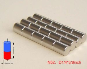 High Performance Sintered Rod Permanent Neo Magnets pictures & photos