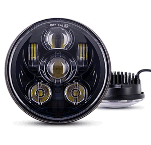 "5.75"" 5 3/4 LED Motorcycle Headlight Daymaker Black for Harley Sportster 1200 XL1200L pictures & photos"