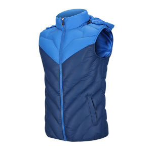Unisex Padding Polyester Hoody Vest for Men and Women Waistcoat pictures & photos