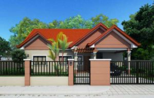 Simple Decoration Thermal Insulation Fireproof Steel Frame House