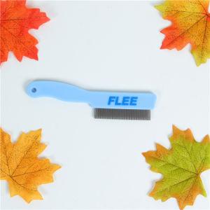 Blue Plastic Superdense Steel Pet Comb pictures & photos