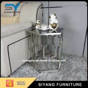 Metal Furniture Sofa Table Steel Coffee Table French Side Table pictures & photos