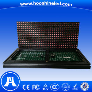 Competitive Price P10 DIP546 Red Color Temperature Sensor LED Display pictures & photos