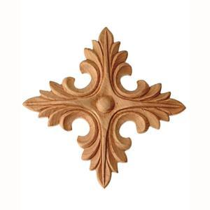 Star Wood Rosette and Carving sculpture pictures & photos