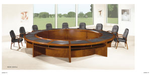 Round Shaped Modern Design Conference Table for Large Meeting Room pictures & photos