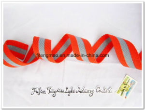 Red Grey Mixed Cotton Webbing Belt pictures & photos