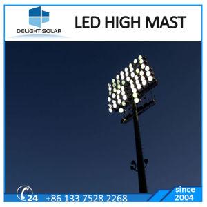 30m Octagonal Polygonal Pole Stadium LED Flood Lighting High Mast pictures & photos