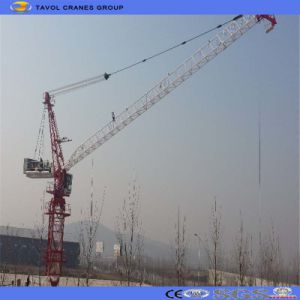 Construction Site Machines Luffing Jib Tower Crane pictures & photos