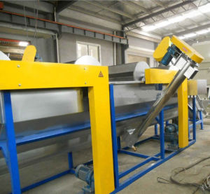 PP PE Plastic Crushing Cleaning Granulation Production Line pictures & photos
