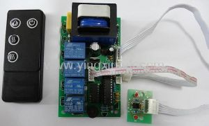 Output 24VDC Electric Fireplace Control Board with Handset PCBA (FR-010) pictures & photos