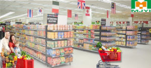 Plastic Supermarket Convenient Retail Store Shopping Trolley pictures & photos