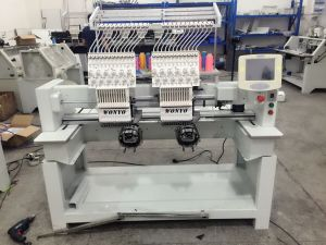 Hot Sale Double 2 Head Embroidery Machine Wy1202c pictures & photos