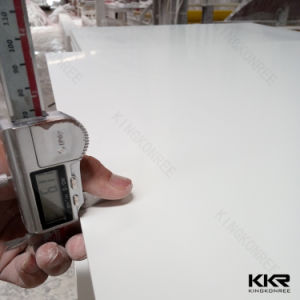 Glacier White 12mm Staron Pure Acrylic Solid Surface (M1705101) pictures & photos