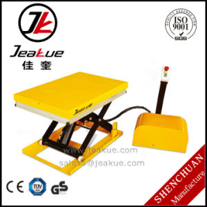 Jeakue Mini Electric Lift Table 1000kg pictures & photos