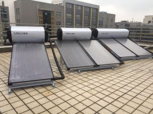 Jxl 150L 200L 300L Flat Plate Solar Collector Flat Plate Solar Water Heater pictures & photos