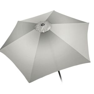 Patio Aluminum Umbrella 10 FT (White Hexagon Shape Polyeaster Cover) pictures & photos