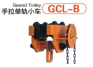 Hand Operated Geared Trolley with Ce