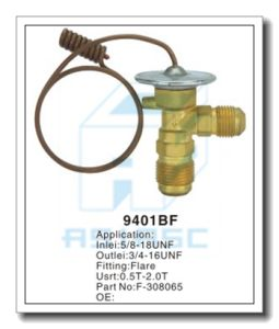 Customized Thermal Brass Expansion Valve for Auto Refrigeration MD9401bf pictures & photos
