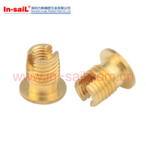 AG Throughed Slotted Thread Insert Nut pictures & photos