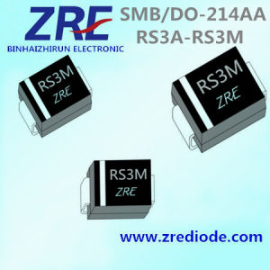 3A RS3a Thru RS3m Surface Mount Fast Recovery Rectifiers Diode SMB/Do-214AA pictures & photos