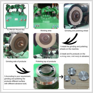 Zinc Alloy Buckle Grinding Polishing Machine pictures & photos