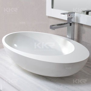Sanitary Ware Modern Solid Surface Bathroom Basin pictures & photos