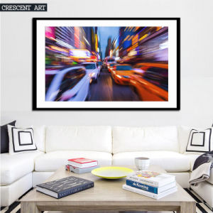 Busy Street Wall Picture Luxury City Canvas Print pictures & photos