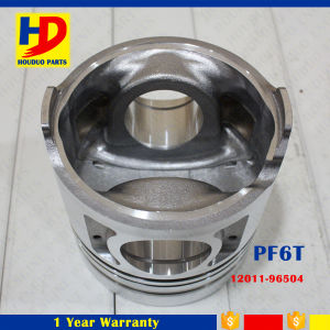 Excavator Diesel Engine Spare Parts PF6t Piston OEM (12011-96504) pictures & photos