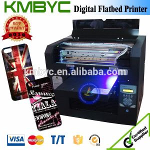 A3 8 Color Phone Case Printing UV LED Flatbed Printer with High Speed pictures & photos