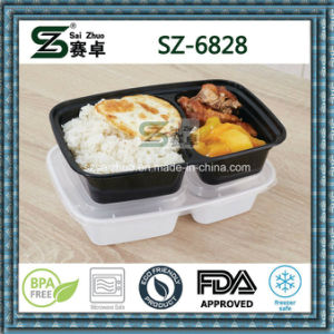 2 Compartment Meal Prep Container Food Storage pictures & photos
