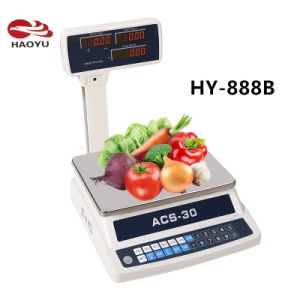 Economic Electronic Price Computing Table Scale of 30kg pictures & photos