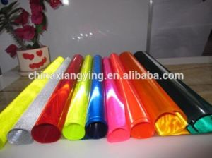 PVC Lattice Various Color Raw Reflective Film pictures & photos