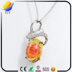 Natural 925 Sterling Silver Opal Pink Crystal Gemstone Pendant pictures & photos