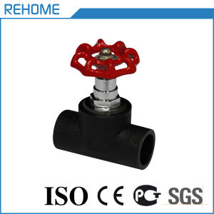 HDPE Pipe Fitting for Water Supply Valve PE Stop Valve pictures & photos