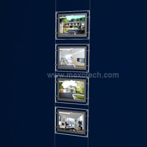 Magnetic LED Light Box for Real Estate Window Displays pictures & photos
