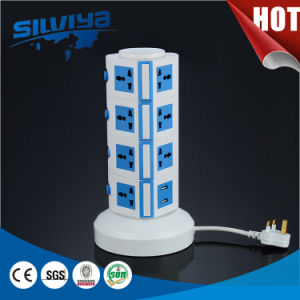 5 Layers Rotary Bottom Multi Tower Socket pictures & photos