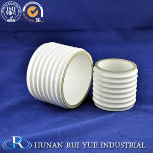 95% Alumina Metallized Ceramic Vacuum Insulator Tube Part pictures & photos
