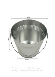 Tin Ice Bucket Tin Pail Metal Food Container pictures & photos