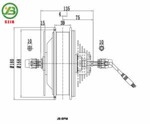 Jb-Bpm 500 Watt 42km/H High Speed Electric Bike Hub Motor pictures & photos