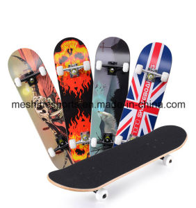 4 Wheel Maple Wood Skateboard OEM Manufacturer pictures & photos