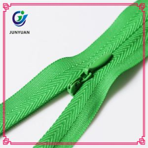 Small Invisible Nylon Zipper for Bag with Head Sliders pictures & photos