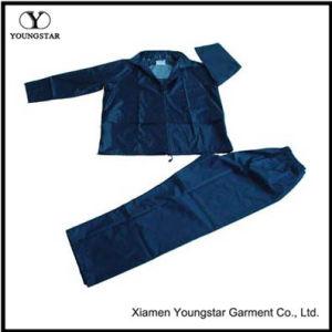 Cheap Practical Polyester / PVC Waterproof Rainsuit / Rain Suit pictures & photos