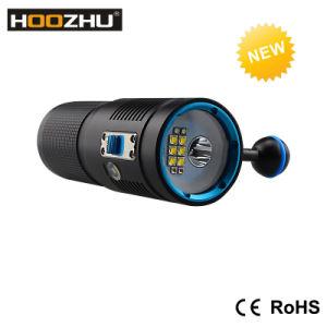 Hoozhu V40d Diving Video Fashlight + Spotlight Watrproof 100m