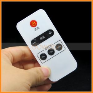 Universal 6 Keys Ultra Thin Bubble Button IR Remote Control Support Code Customize pictures & photos