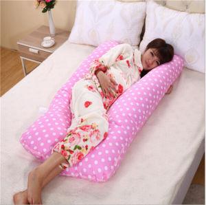 Cotton Soft U-Shaped Pregnant Body Pregnancy Pillow pictures & photos
