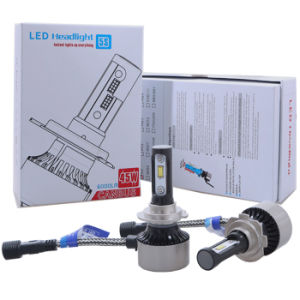 LED Lighting Canbus A3 H7 LED Headlight 45W LED Auto Light 6000k Car Lamp 6000lm Auto Lamp pictures & photos