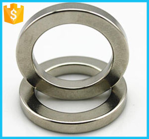 "1/2"" Od X 1/4"" ID X 1/8"" Thick N52 Custom Permanent Ring Neodymium Magnet pictures & photos"